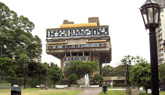 Biblioteca Nacional Argentina, Buenos Aires