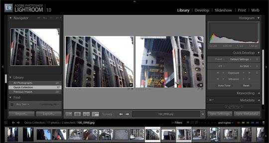 Editar y organizar muchas fotografías