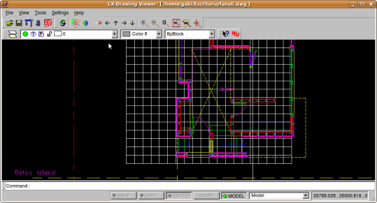 Lx-Viewer. Software para visualizar y convertir el formato DWG (Autocad)